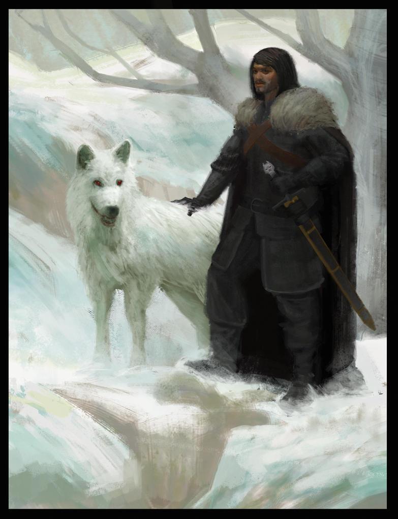 Jon Snow by hapa93