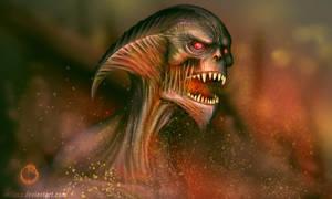 fire demon by vaidass