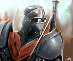 Steam punk knight by ZachDB