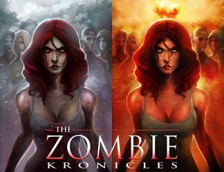 The Zombie Kronicles cover by ZachDB