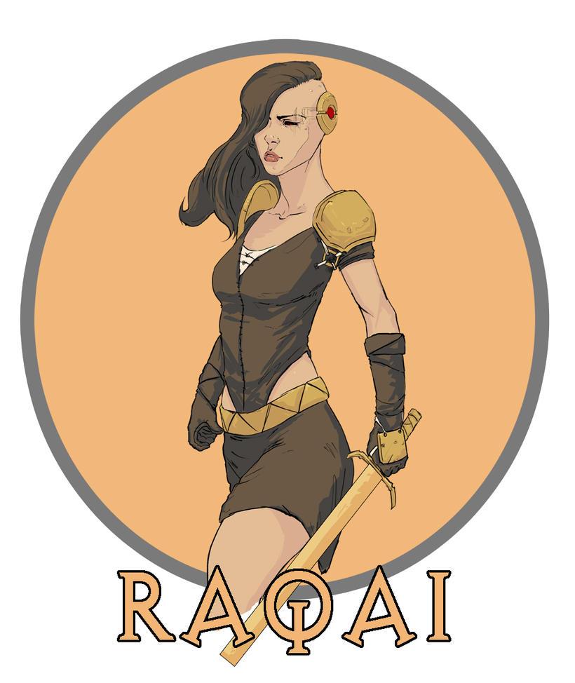 Raqai ReDesign by ZachDB