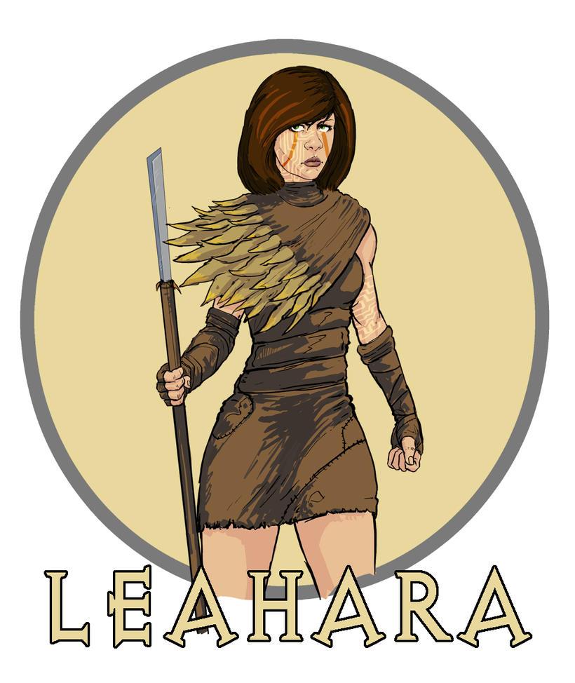 Leahara ReDesign by ZachDB