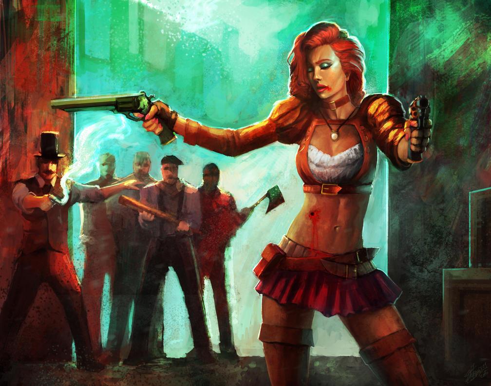 Fan Art Marta Nael- Charlie Steampunk by ZachDB