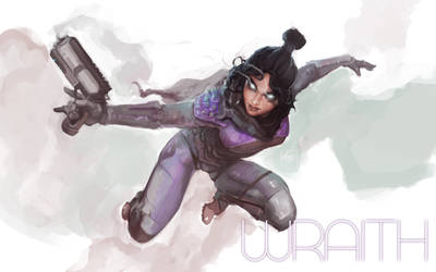 Apex Legends: Wraith (fanart) by ZachDB