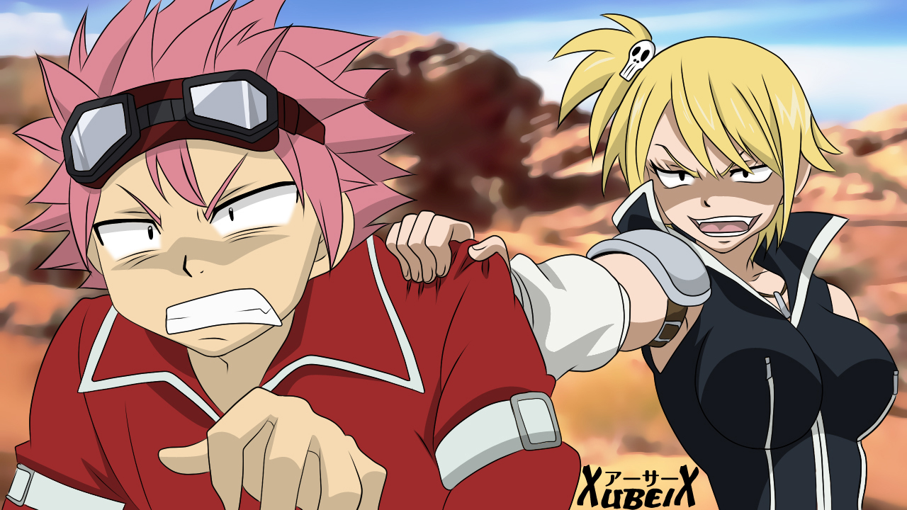 Fairy tail natsu and lucy gif