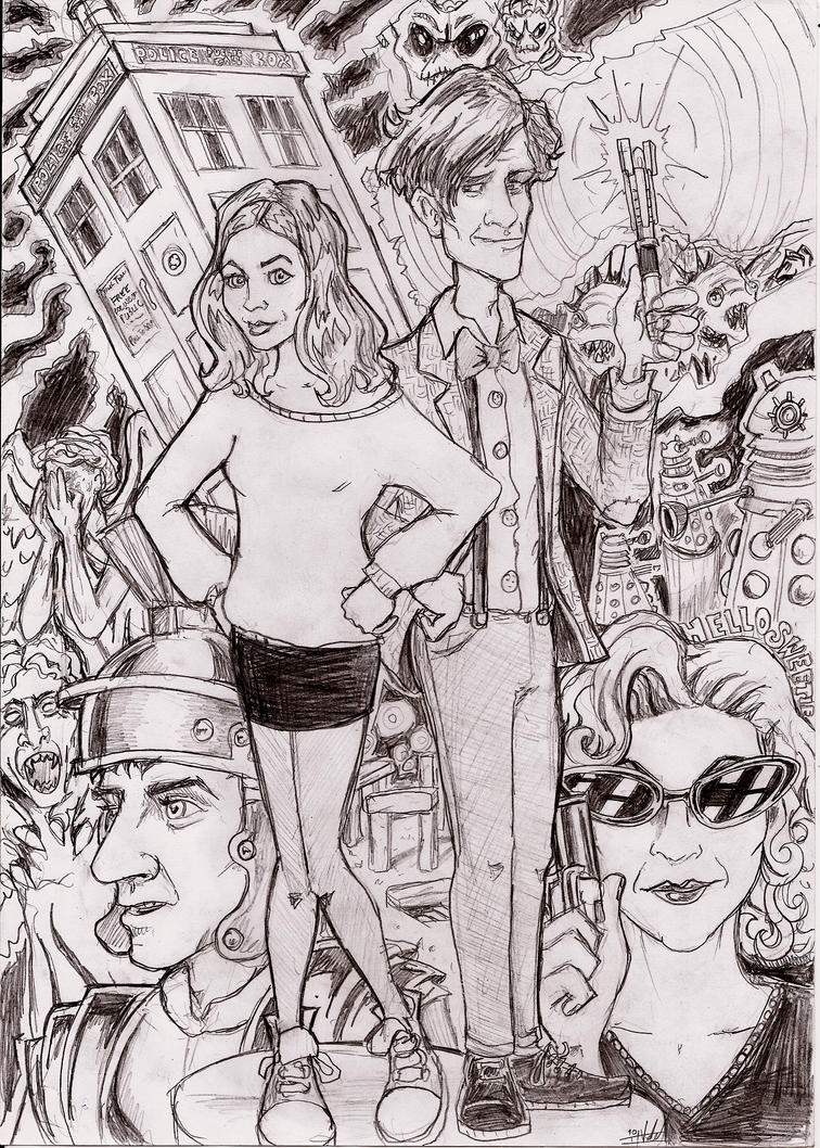 Doctor Who by Ianvincible
