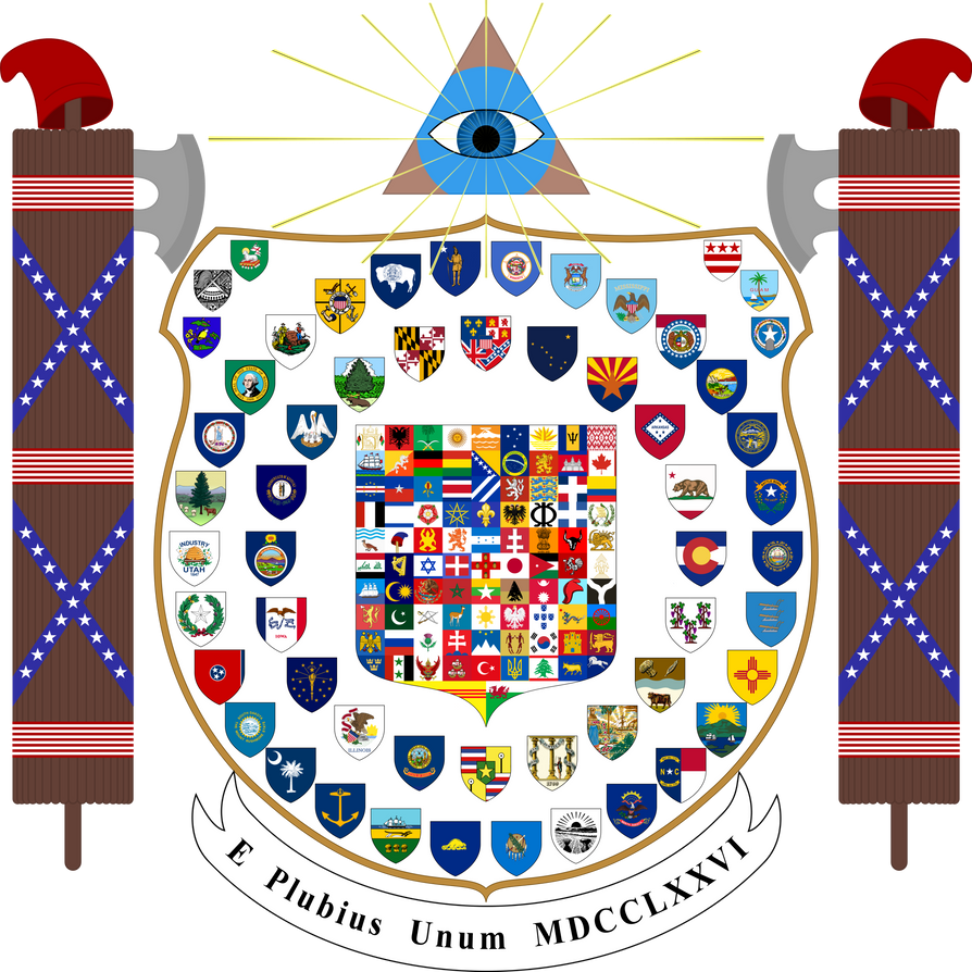 United States of America Coat of Arms by AlexanderAbelard on