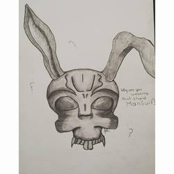 2013 Donnie Darko Inspired Drawing