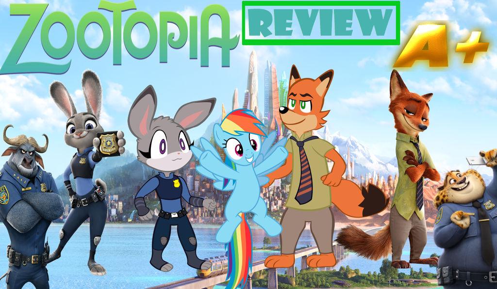 Zootopia Review by MEGARAINBOWDASH2000