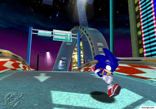 Sonic Speed Highway by MEGARAINBOWDASH2000