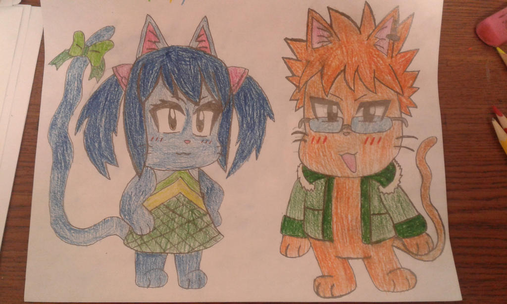 Wendy and Loke Exceed by MEGARAINBOWDASH2000