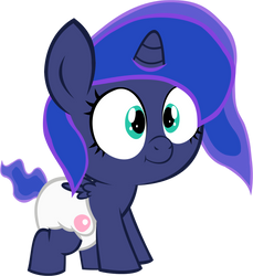 Luna Foal 2 by MEGARAINBOWDASH2000