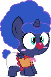 LUNA FOAL Clown 1 by MEGARAINBOWDASH2000