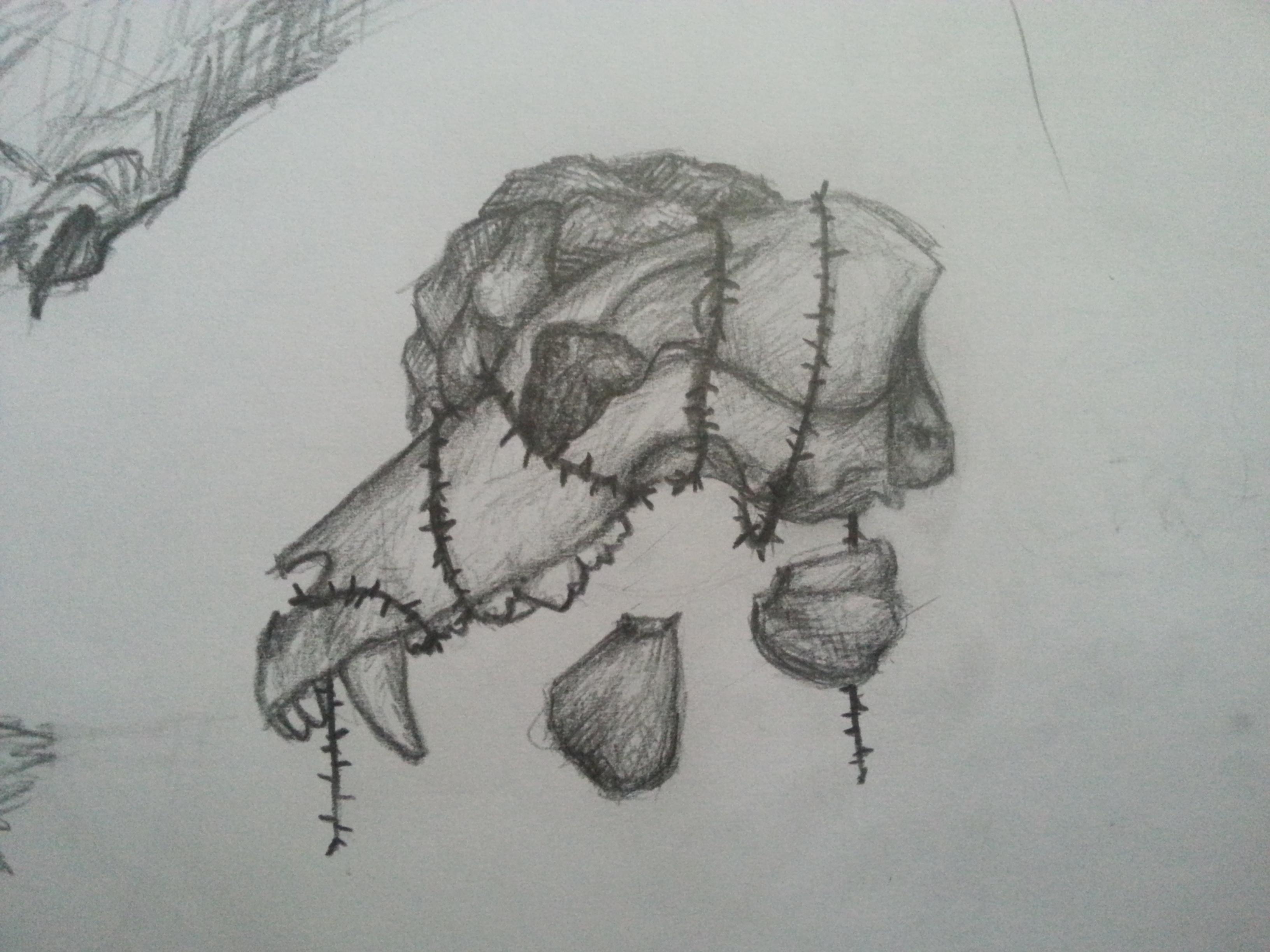 Skull by k0FFe