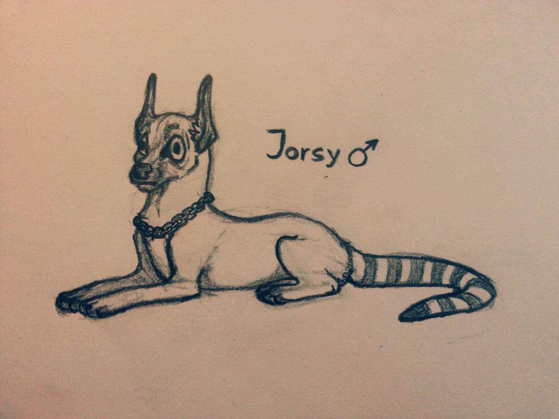 OC Jorsy by k0FFe