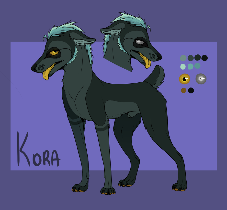 OC Kora by k0FFe