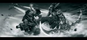 Illidan vs Raynor FINISH by Niko126