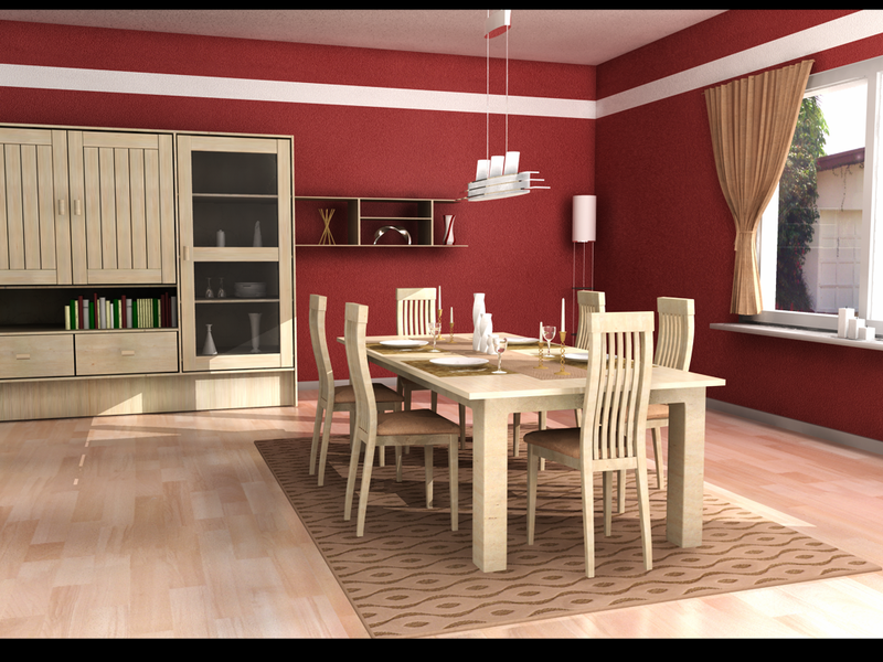 Dining Room By Zigshot82 ...