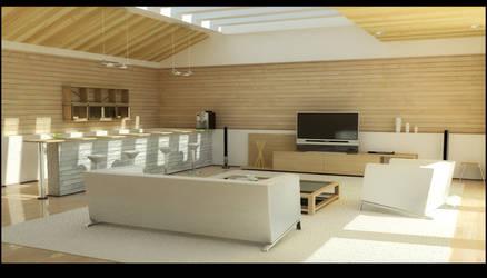 living room - light test 2 by zigshot82