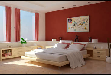 smooth bedroom by zigshot82