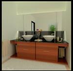 small bath station