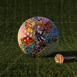 ed hardy golfball by zigshot82