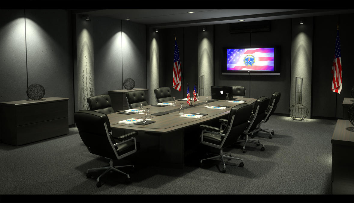 FBI meeting room by zigshot82 on DeviantArt