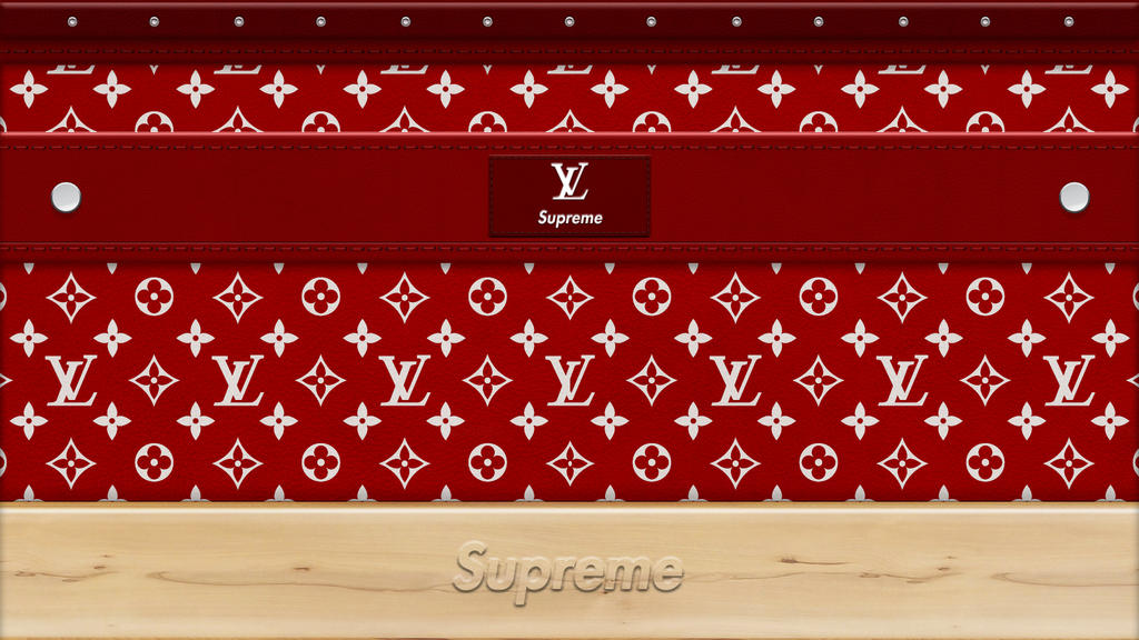 supreme louis vuitton by zigshot82 on deviantart. Black Bedroom Furniture Sets. Home Design Ideas