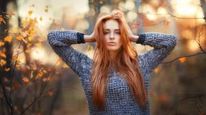 Red-hair beauty by OlgaBoyko