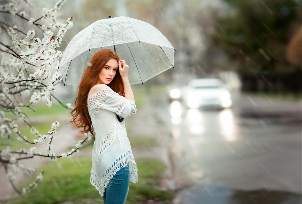 Spring rain by OlgaBoyko
