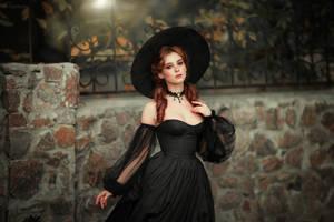 Gothic girl by OlgaBoyko