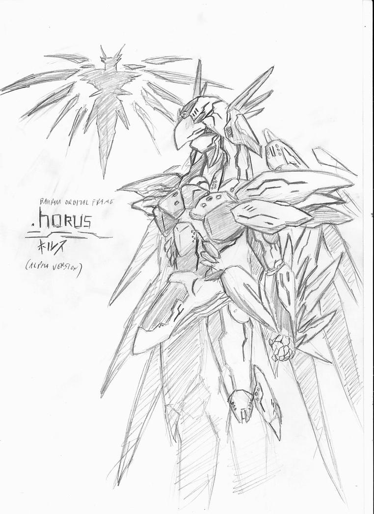 Orbital Frame Horus by jehu-chan