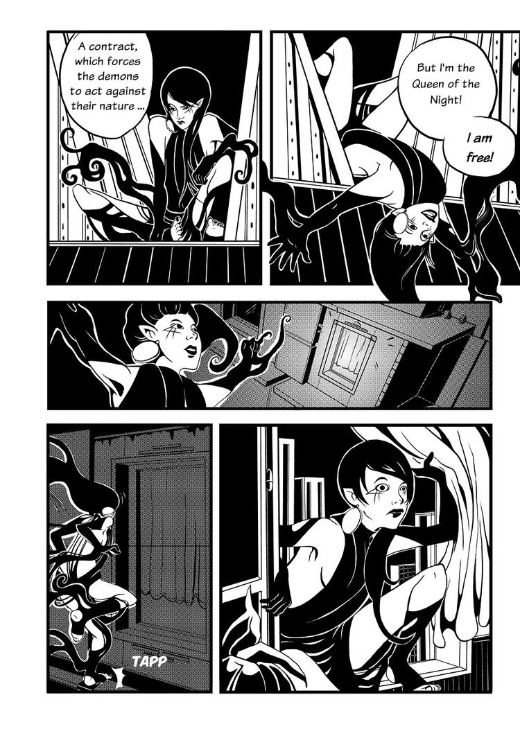 Queen Of The Night page 3 by CarolinReich