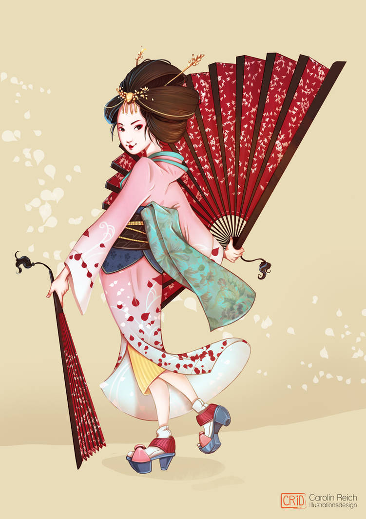 Geisha Characterdesign