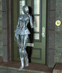 The Robot And The Doorbell