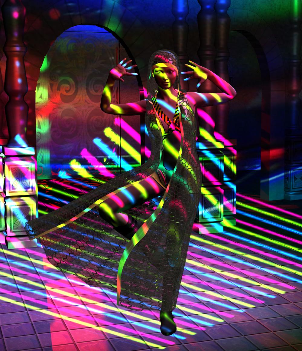 She is a dancer II by silverexpress