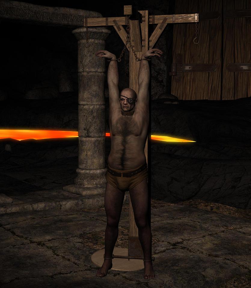 Odin inprisoned by silverexpress