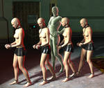 Quartet of slaves