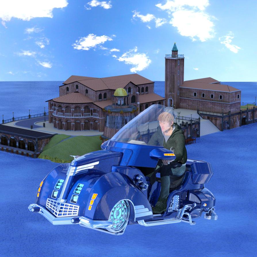 Gabriel's ride by silverexpress