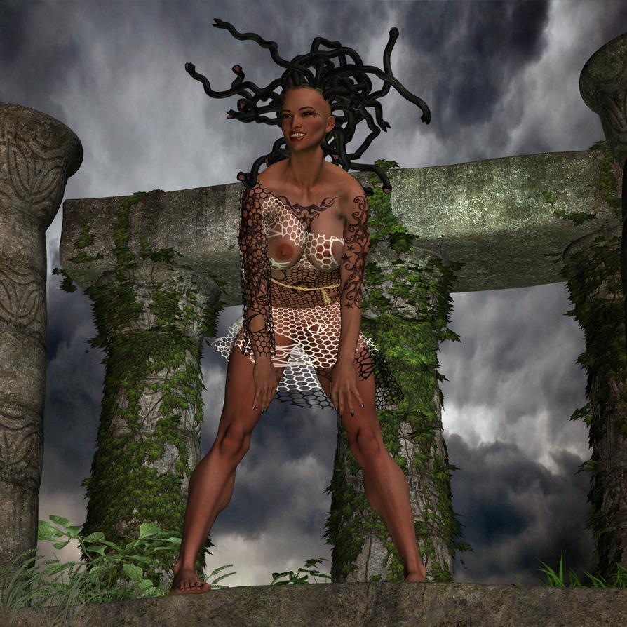 Medusa 2 by silverexpress