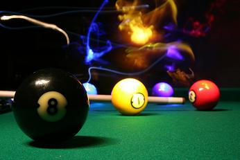 Pool Table Light Painting 1 By GTsweetepie On DeviantArt