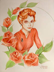 Major Kira Nerys by GilwenGreenleaf