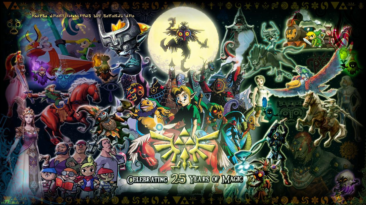 Exclusive Zelda Wallpaper By Ookami Seishin