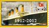 Titanic Centenary Anniversary Stamp by Ookami-Seishin