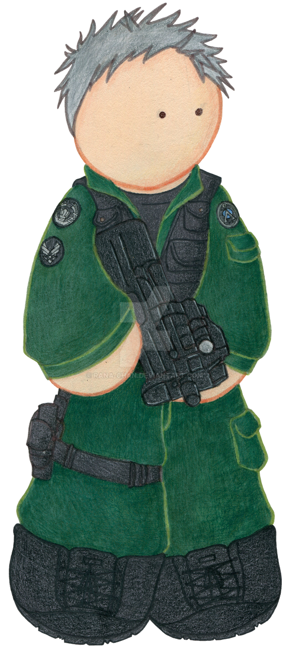 Colonel O'Neill Plushie by Rana-chan