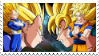Vegeta  Kakarot Stamp by 0ZYMANDlAS