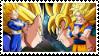 Vegeta  Kakarot Stamp by 0ZYMANDlAS