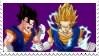 Vegetto Stamp by 0ZYMANDlAS