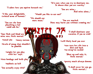Ideal GF meme featuring Xanaedra by 0ZYMANDlAS