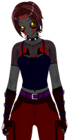 Xanaedra's New Outfit